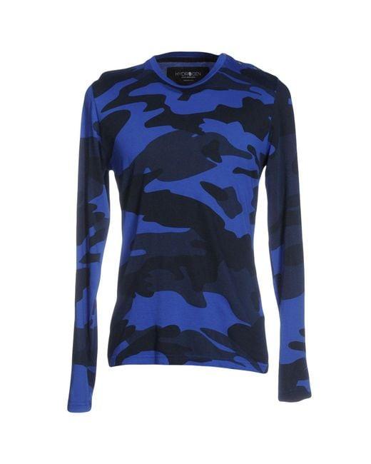 Hydrogen | Blue T-shirt for Men | Lyst