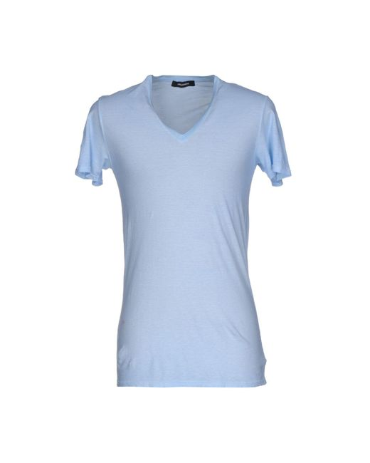 DSquared² - Blue T-shirts for Men - Lyst