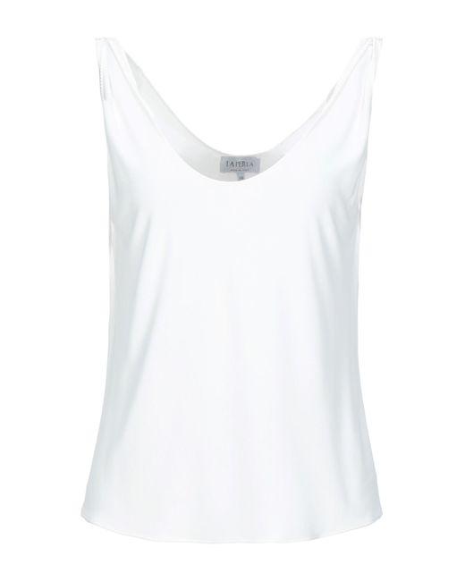 La Perla Camiseta de tirantes de mujer de color blanco