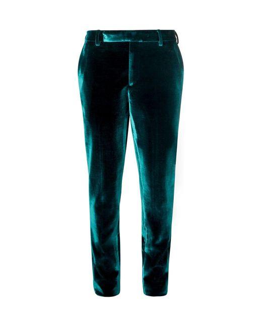 Pantalones Saint Laurent de hombre de color Blue