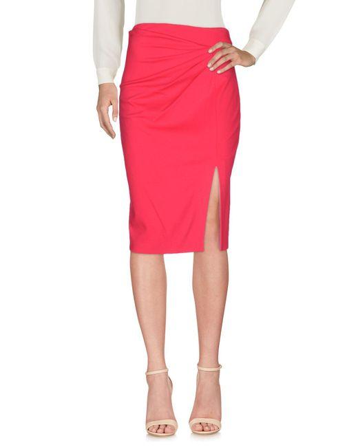 Blumarine - Pink 3/4 Length Skirts - Lyst