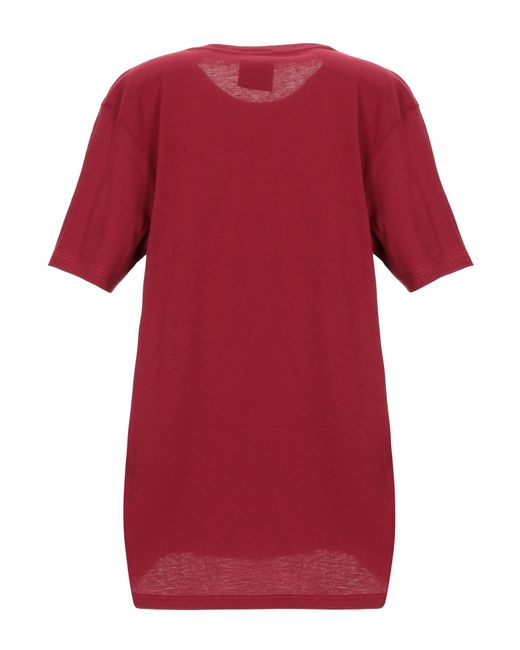 T-shirt di Jijil in Red