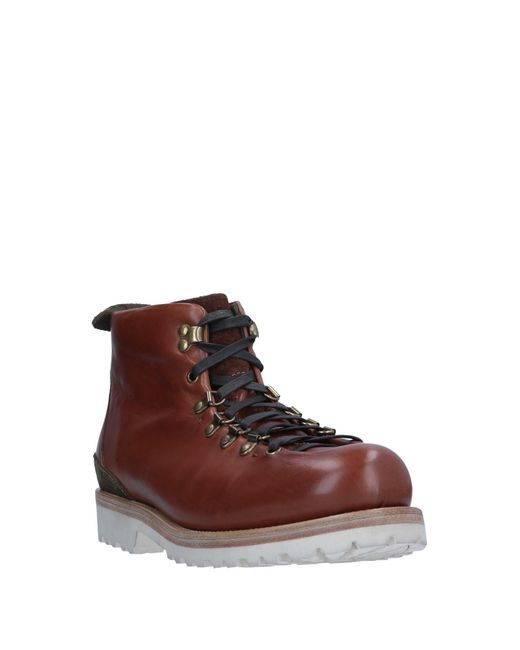 Buttero Brown Ankle Boots for men