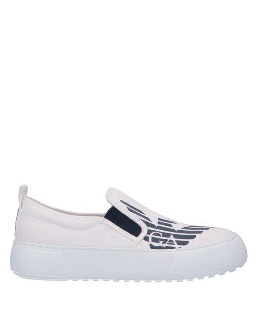 EA7 White Low-tops & Sneakers