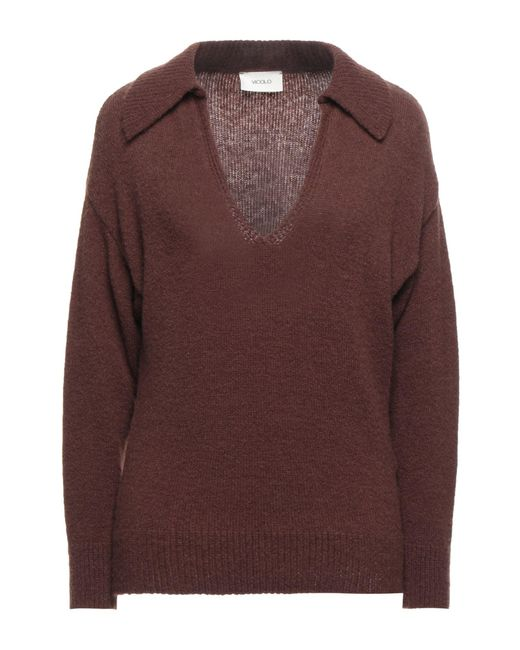 Pullover di ViCOLO in Brown