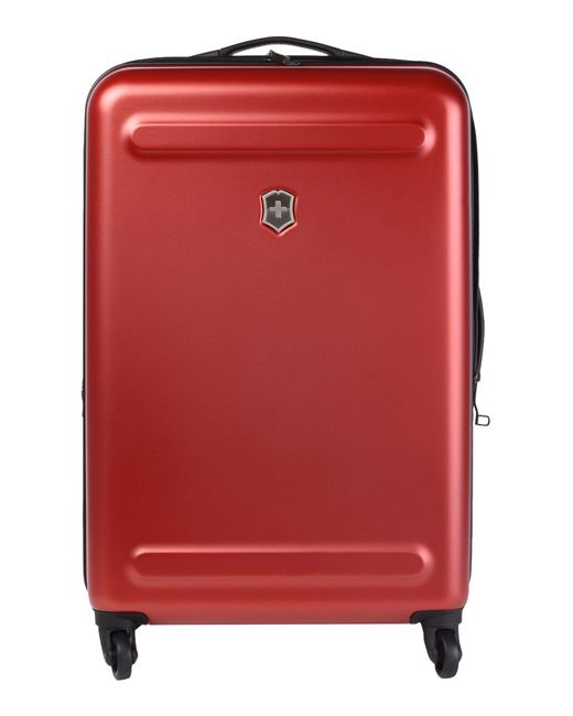 Victorinox - Red Wheeled Luggage for Men - Lyst
