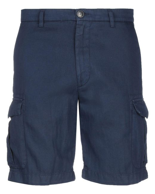 Eleventy Blue Bermuda Shorts for men