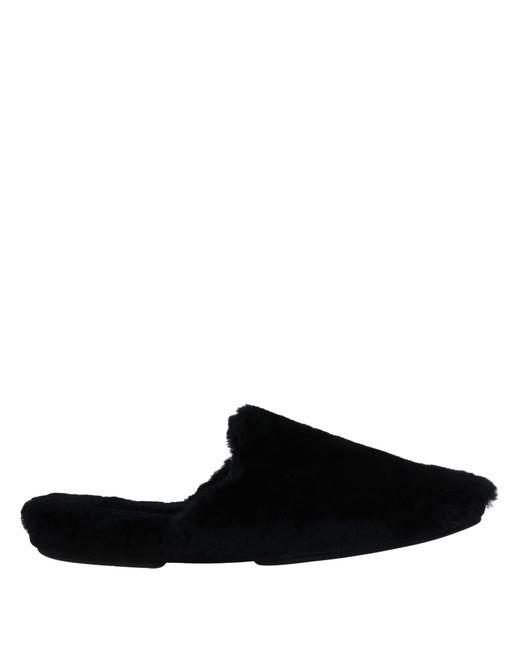 Pantuflas Dolce & Gabbana de hombre de color Black