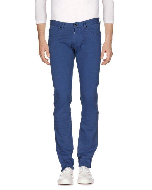 Paolo Pecora - Blue Denim Trousers for Men - Lyst