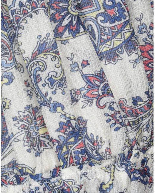 Jupe mi-longue Isabel Marant en coloris White