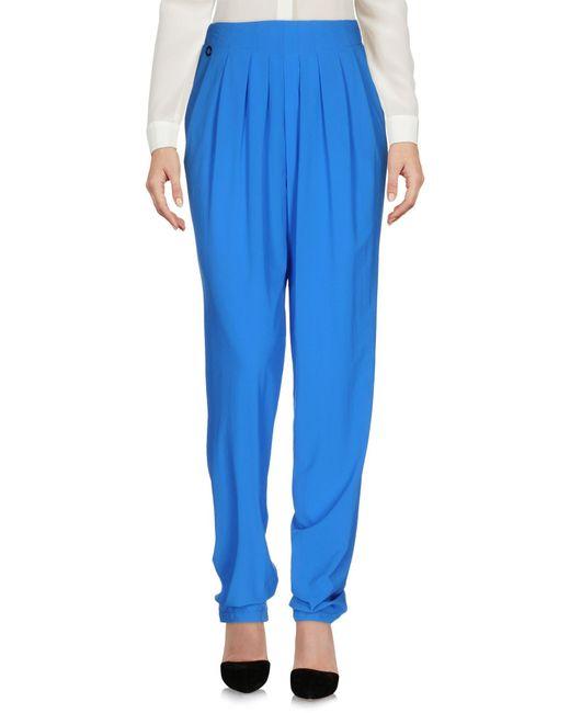 Manila Grace | Blue Casual Pants | Lyst