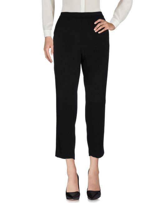 Nude | Black Casual Pants | Lyst