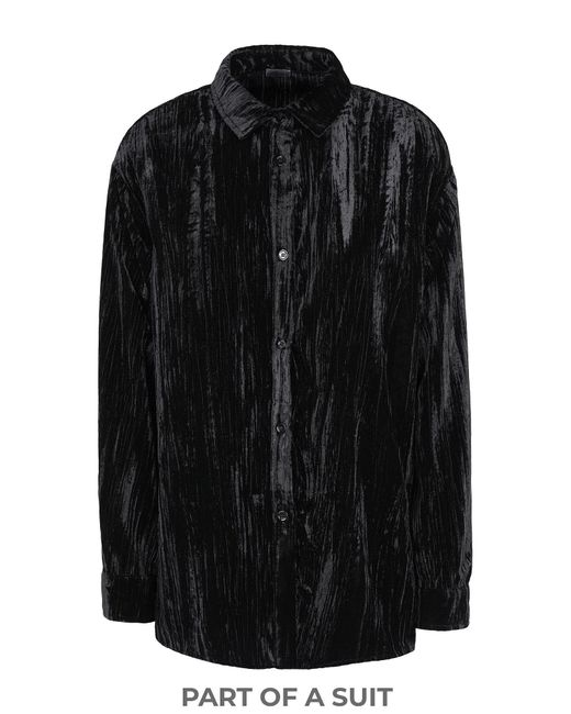 8 by YOOX Black Shirt