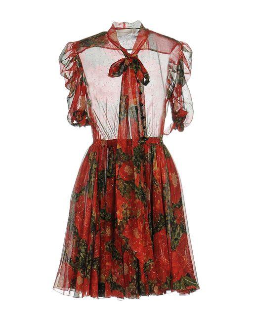 Faith Connexion - Red Short Dress - Lyst