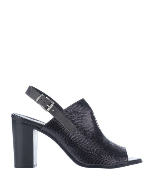 Lemarè Black Sandale