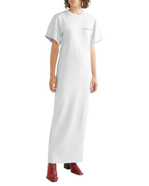 Alexander Wang Gray Long Dress
