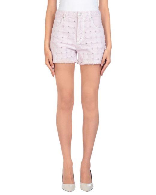 Étoile Isabel Marant Pink Denim Shorts