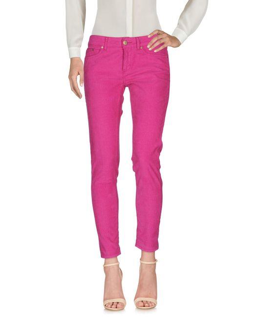 Dondup Pink Casual Pants