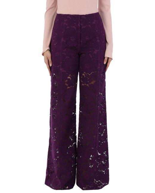 Philosophy Di Lorenzo Serafini Pantalon femme de coloris violet