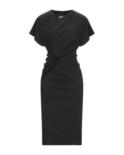 Vestito longuette di ..,merci in Black