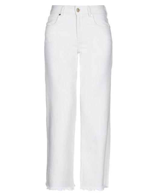 Pantalones Silvian Heach de color White