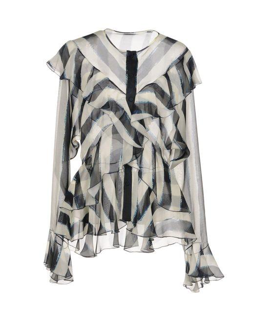 Alberta Ferretti - Natural Shirt - Lyst