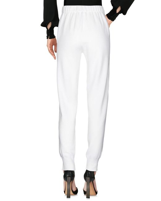 Fabiana Filippi White Casual Trouser