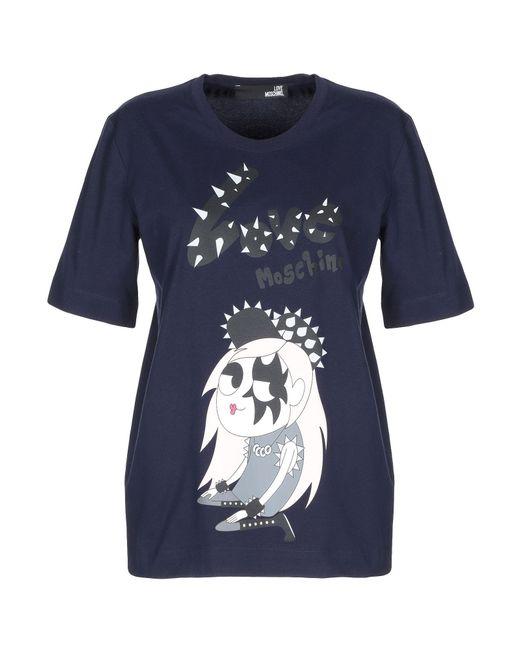 Love Moschino Blue T-shirt