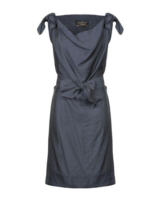 Vivienne Westwood Anglomania Blue Knee-length Dress