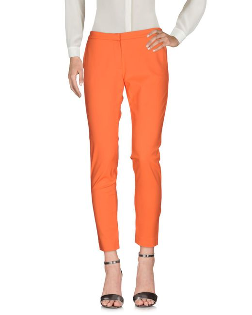 Ki6? Who Are You? - Orange Casual Pants - Lyst