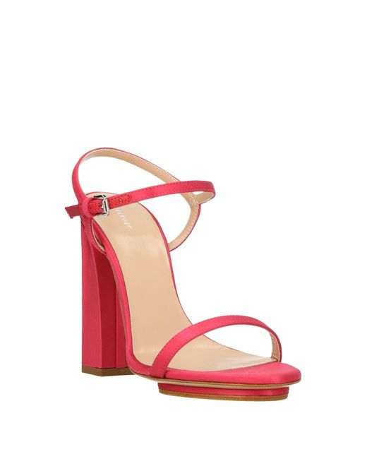 Delpozo Pink Sandale