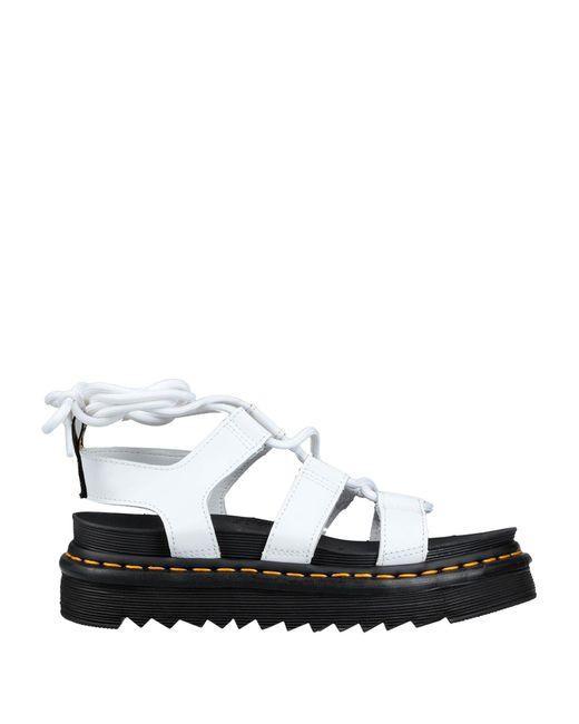 Dr. Martens White Nartilla Hydro Sandal