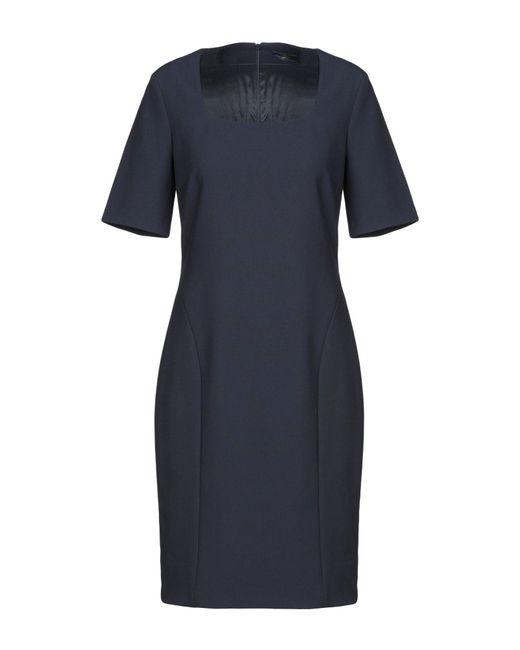 Peserico Blue Knee-length Dress