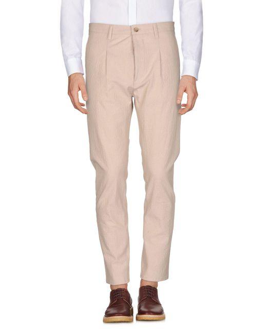 Cruna - Natural Casual Pants for Men - Lyst