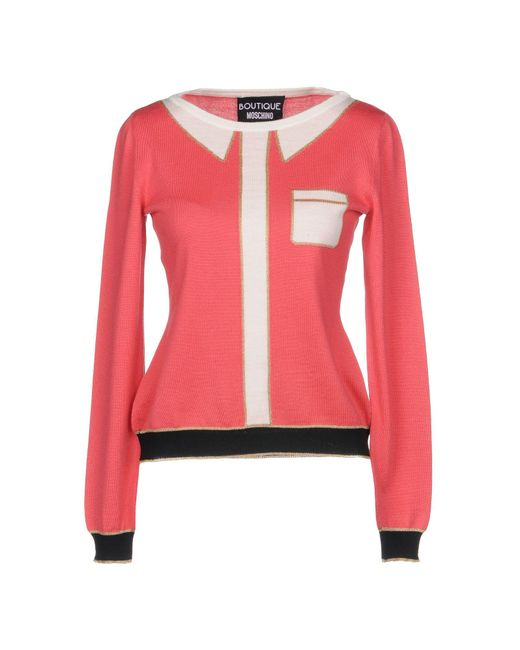 Boutique Moschino - Pink Jumper - Lyst