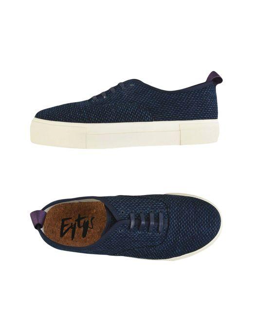 Eytys Blue Low-tops & Sneakers