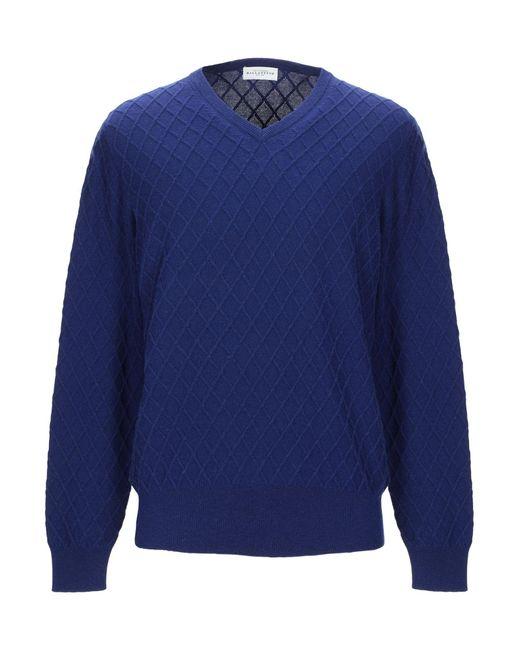 Pullover Ballantyne de hombre de color Blue