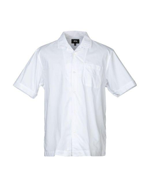 Stussy Hemd in White für Herren
