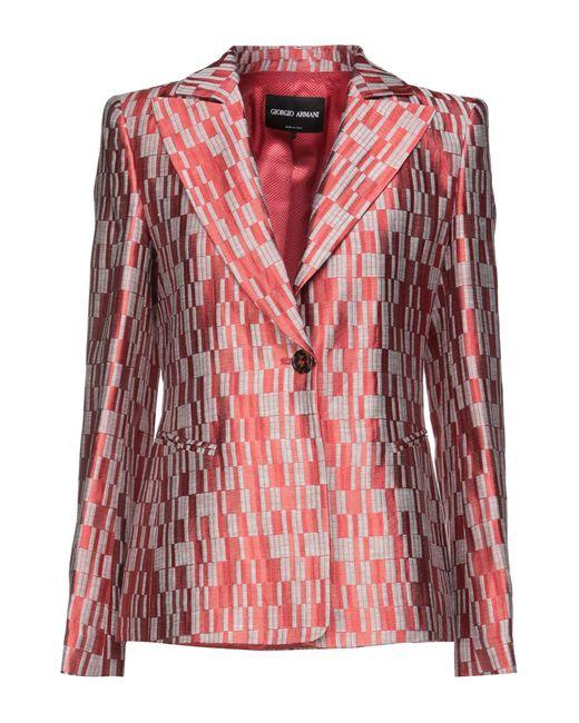 Veste Giorgio Armani en coloris Red