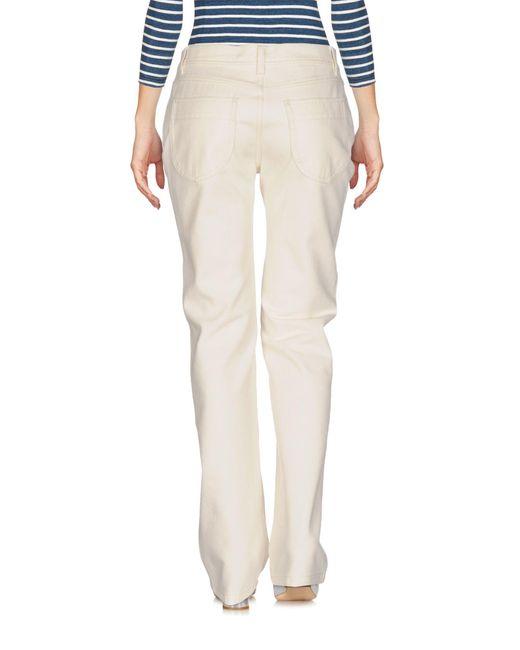 Pantaloni jeans di Philosophy Di Lorenzo Serafini in White