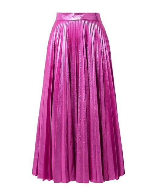 Christopher Kane Purple Long Skirt