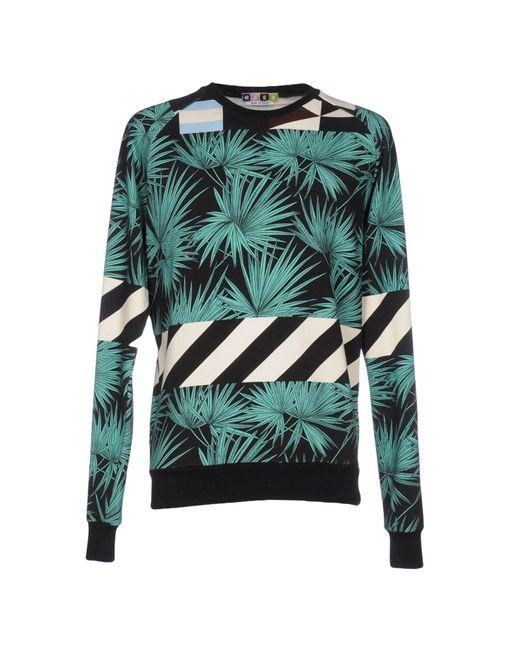 MSGM - Black Sweatshirts for Men - Lyst