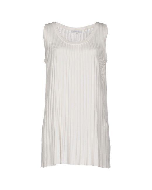 Patrizia Pepe - White Sweaters - Lyst
