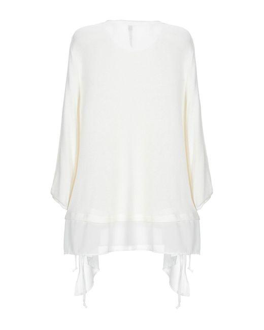 Pianurastudio White Pullover