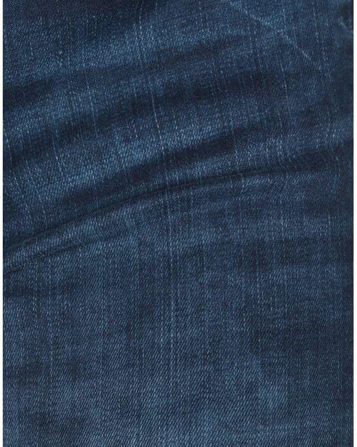 Guess Pantalon en jean femme de coloris bleu