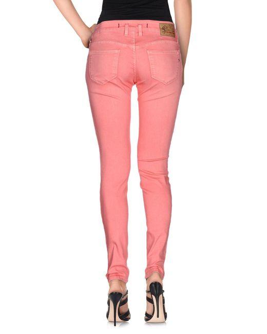 Pantaloni jeans di Twenty Easy By Kaos in Pink