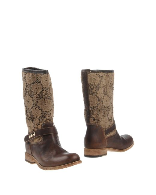 Twin Set - Brown Boots - Lyst