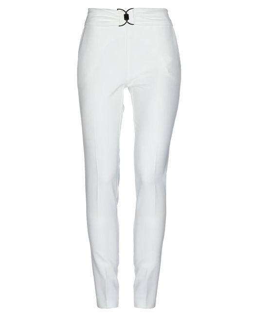 Annarita N. White Casual Pants