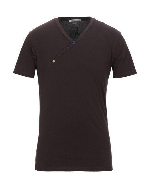 Grey Daniele Alessandrini Brown T-shirt for men