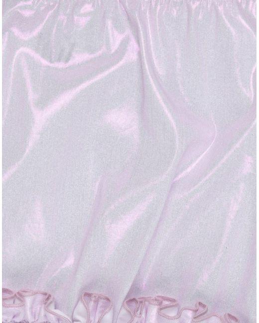 Mini-jupe Jijil en coloris Purple